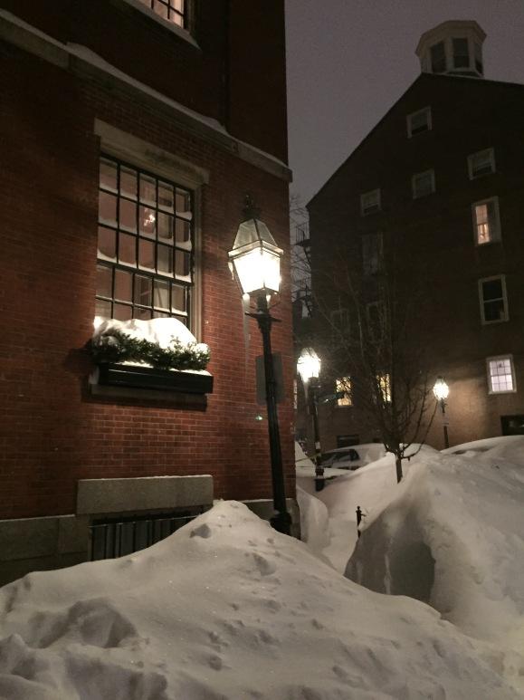 Snowdrift in Boston